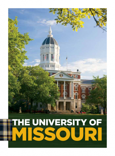 Cover of International Admissions Brochure