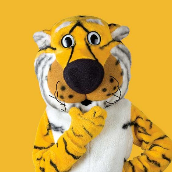Truman the Tiger thinking