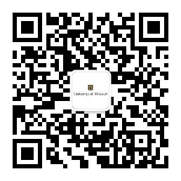 QR code. Please contact International Admissions for assistance in using WeChat. 573-882-7786